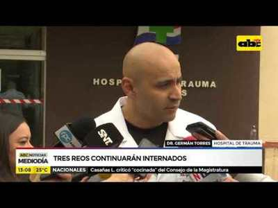 Motín en San Pedro: Tres reos continuarán internados