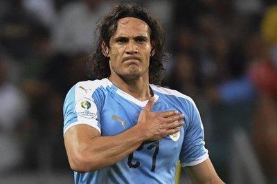 Cavani y su primer grito en Copa América