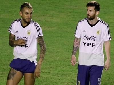 Argentina: Dos entrenaron diferenciados