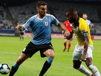 Vecino se perderá el resto de la Copa América por una lesión muscular