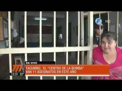 "Tacumbú, el ""centro de la bomba"""
