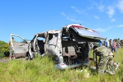 Fatal accidente en Arroyito