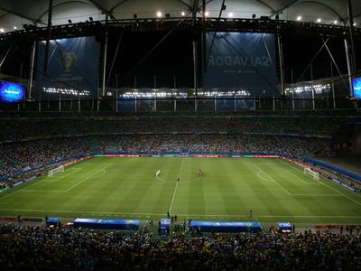 Alerta en Brasil por el estado del césped del Arena Fonte Nova