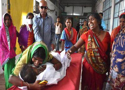 Un virus que ataca al cerebro mata a 97 niños en Bihar