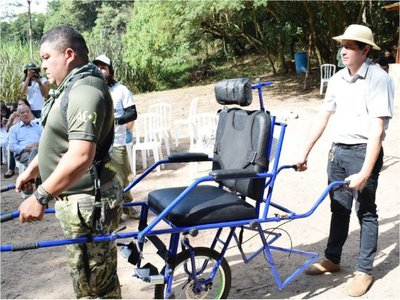 Un mirador inclusivo espera a los turistas en  serranías del  Ybytyruzú
