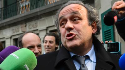 Platini es detenido por corrupción en la elección del Mundial de Qatar 2022