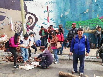 Campesinos donan 10 mil kilos de alimentos a damnificados