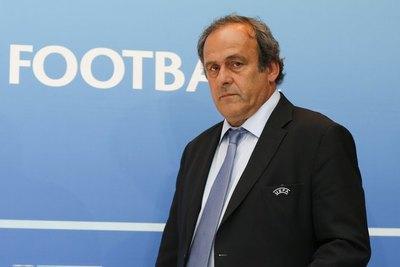Platini fue detenido en París por presunta corrupción