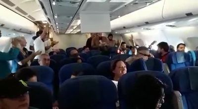 220 pasajeros varados por intensa neblina en el Aeropuerto Silvio Pettirossi