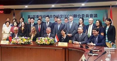 Taiwán busca eliminar aranceles para productos originarios del Paraguay
