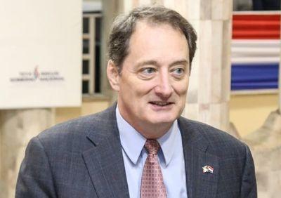 Embajador de EEUU valora fortaleza de la economía paraguaya