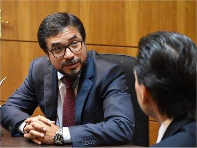 Mario Abdo respalda gestión de ministro de Justicia