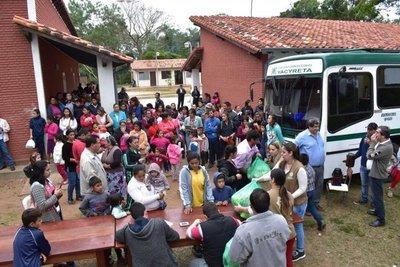 Pytyvõ umi familias isla Yasyretãguápe