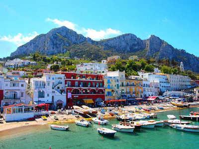 Isla de Capri: capricho de los dioses romanos
