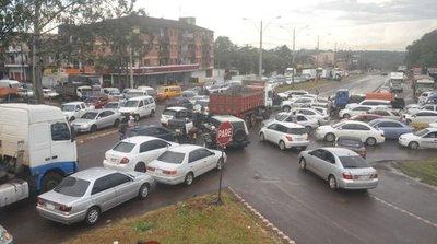 Alto Paraná figura en tercer lugar en cantidad de vehículos en el país