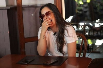 Larissa Riquelme degustó platos típicos de Belo Horizonte