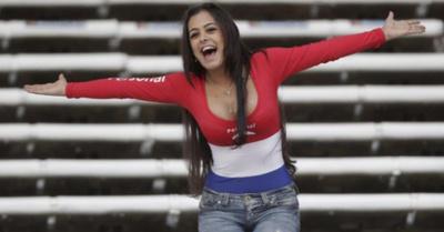 Larissa fue recibida como reina en Brasil