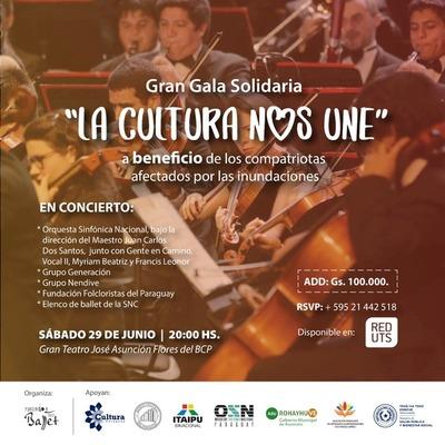 "Gran Gala Solidaria ""La Cultura nos Une"""