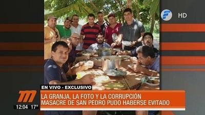 Autoridades compartían almuerzo con reclusos, revela fotografía