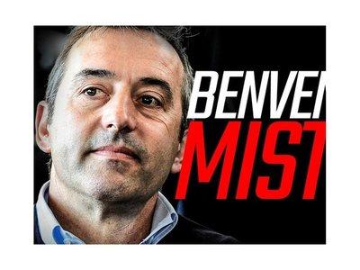 Marco Giampaolo, nuevo técnico del Milan