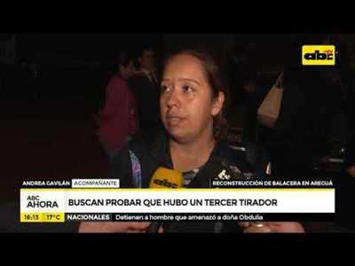 Balacera en Areguá: buscan demostrar que hubo un tercer tirador