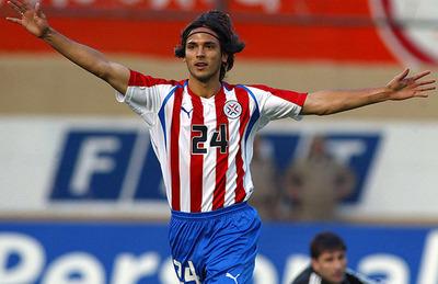 Roque Santa Cruz anotó en el primer triunfo ante Argentina