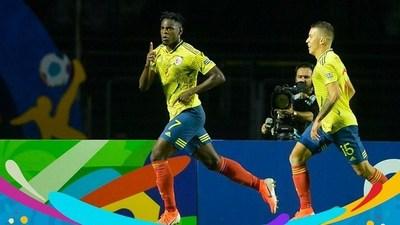 Goles Copa América: Colombia 1-0 Qatar · Radio Monumental 1080 AM