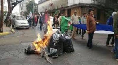 Asunción amaneció con piquetes incendiarios que bloquean varias arterias
