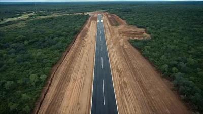Para mejorar conectividad en el Chaco, habilitan mejoras en el aeródromo de Boquerón