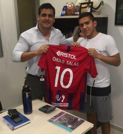Gómez Salas refuerza plantel de Cerro Porteño