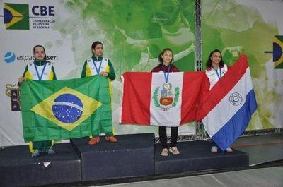 Paraguay obtiene medalla de bronce en Sudamericano de Esgrima Infantil