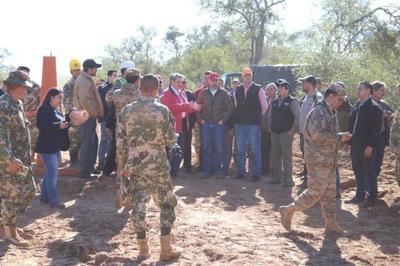 Realizan trabajos de reapertura de picadas y limpieza de hitos en la frontera con Bolivia