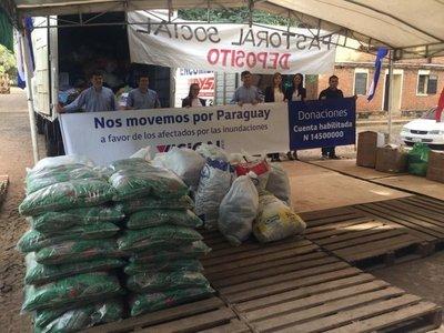 Visión Banco entregó aporte a afectados por las inundaciones
