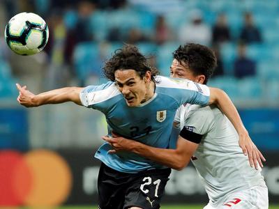 Japón iguala con Uruguay en un partidazo