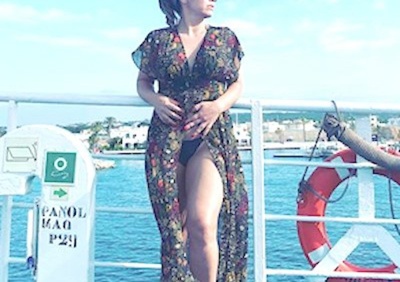 Lili Álvarez por España y en biquini