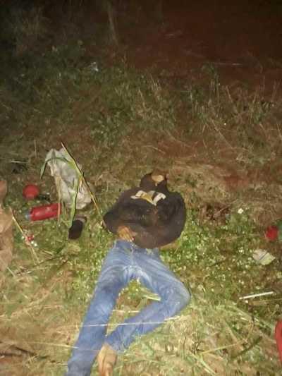 Choque entre motos deja un menor muerto y tres heridos en Los Cedrales