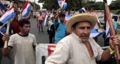 Campesinos temen posibles enfrentamientos con la Policía