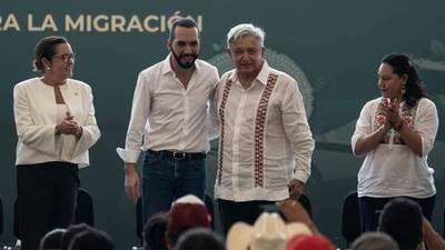 México anuncia una inversión de 30 millones de dólares en El Salvador como parte del plan migratorio