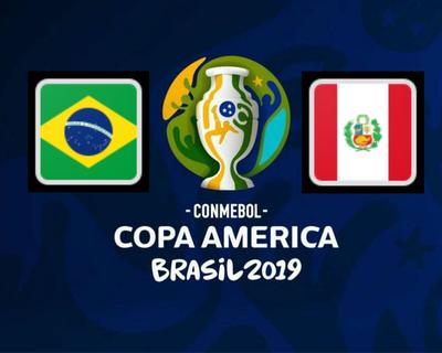 Brasil y Perú por el boleto a los cuartos de final
