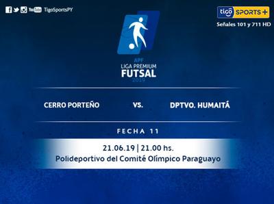 Cerro Porteño defiende su liderazgo ante Humaitá