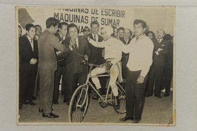 Falleció el ciclista Lorenzo Prieto, primer paraguayo en el Guinness