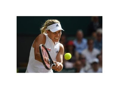 Alemana Kerber gana por primera vez en Wimbledon