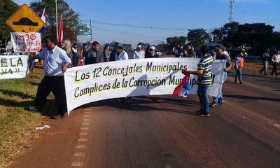 Levantan protesta en Minga Guazú