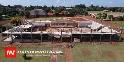 CAP. MEZA TENDRÁ EL POLIDEPORTIVO MÁS MODERNO DEL INTERIOR DE ITAPÚA.