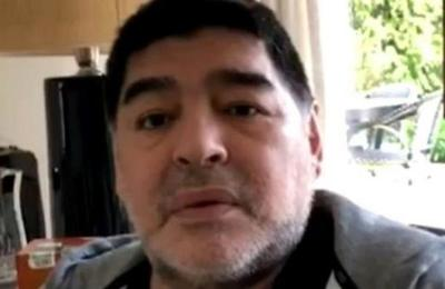 'No me estoy muriendo': Maradona desmiente rumores sobre su estado de salud