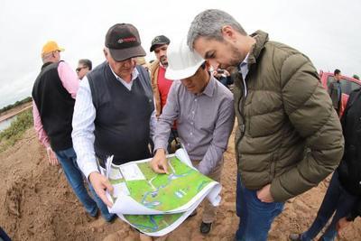 Nuevo canal permitirá mejor aprovechamiento de aguas del Pilcomayo