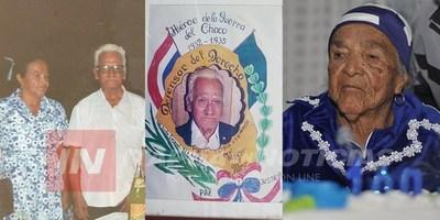VIUDA DE EX COMBATIENTE CUMPLIÓ 101 AÑOS Y FESTEJARON A LO GRANDE.