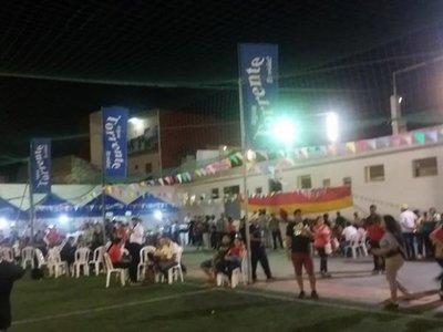 Pelea por fiesta de San Juan en el Sport Colombia
