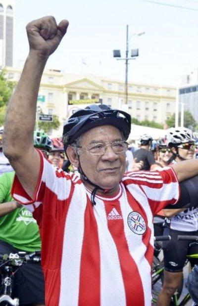 El gran Lorenzo Prieto lleva su pedal al cielo