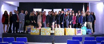 Estudiantes de la Universidad Americana en misión de solidaridad